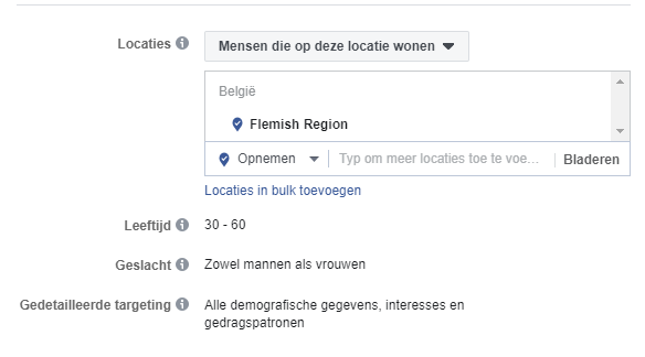 lokaal adverteren facebook