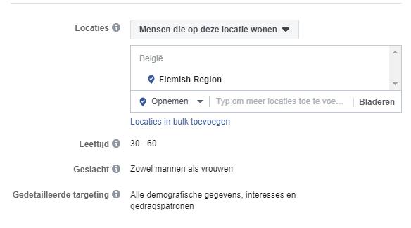 lokaal adverteren facebook