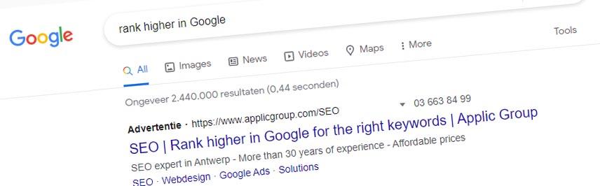 Rank higher in Google
